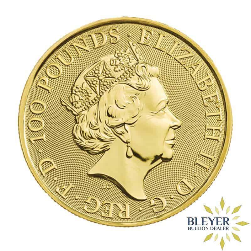 1oz Gold UK Queen's Beasts The Falcon of the Plantagenets, 2019