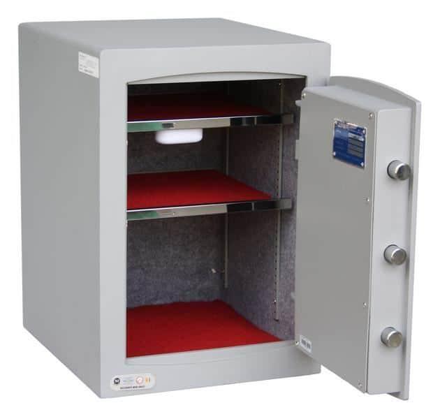 Mini Vault S2 Silver 2 Electronic Locking Safe