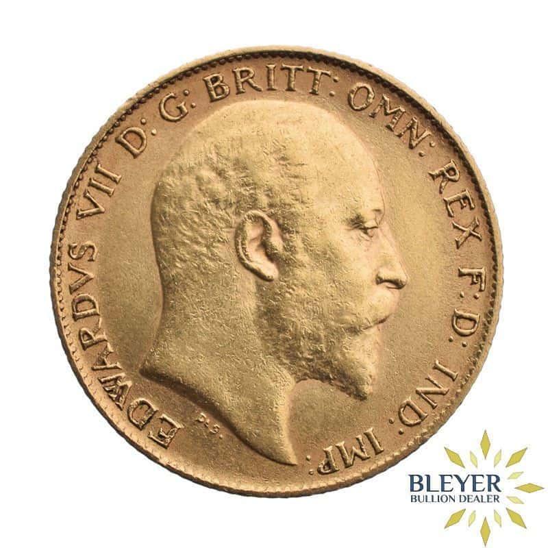 UK Gold Half Sovereign - Edward VII