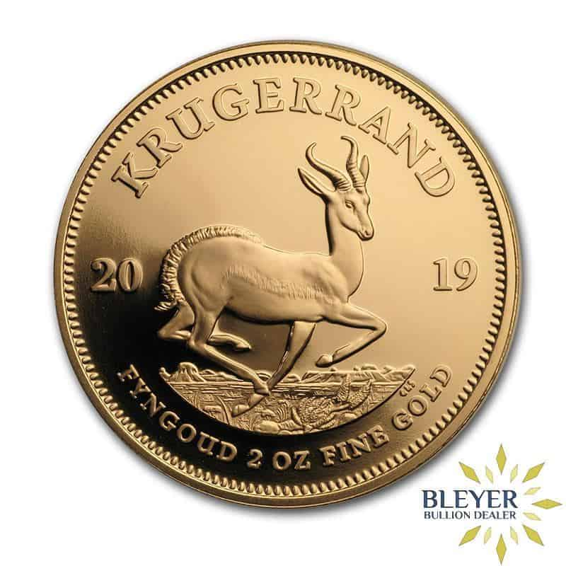 1oz Gold South African Krugerrand Coin (Current Year)