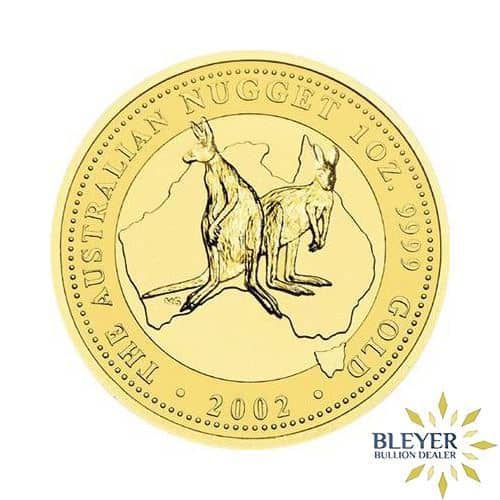 1oz Gold Australian Kangaroo Coin - Mixed Years