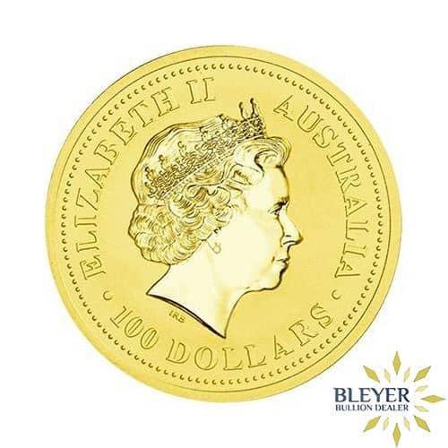 1oz Gold Australian Kangaroo Coin - Mixed Years