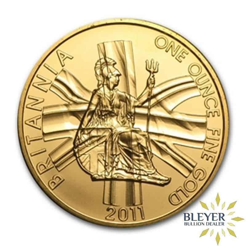 1oz Gold Britannia Coin: Pre-2013