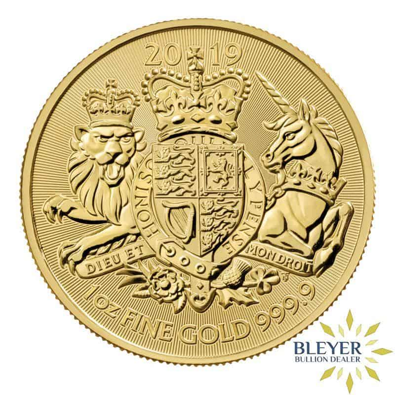 1oz Gold UK The Royal Arms Coin, 2019