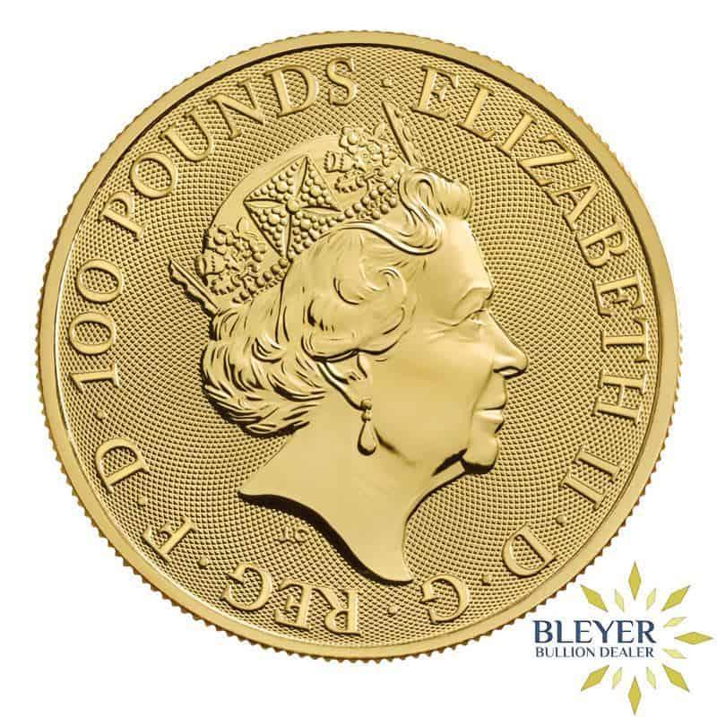 1oz Gold UK The Royal Arms Coin, 2019