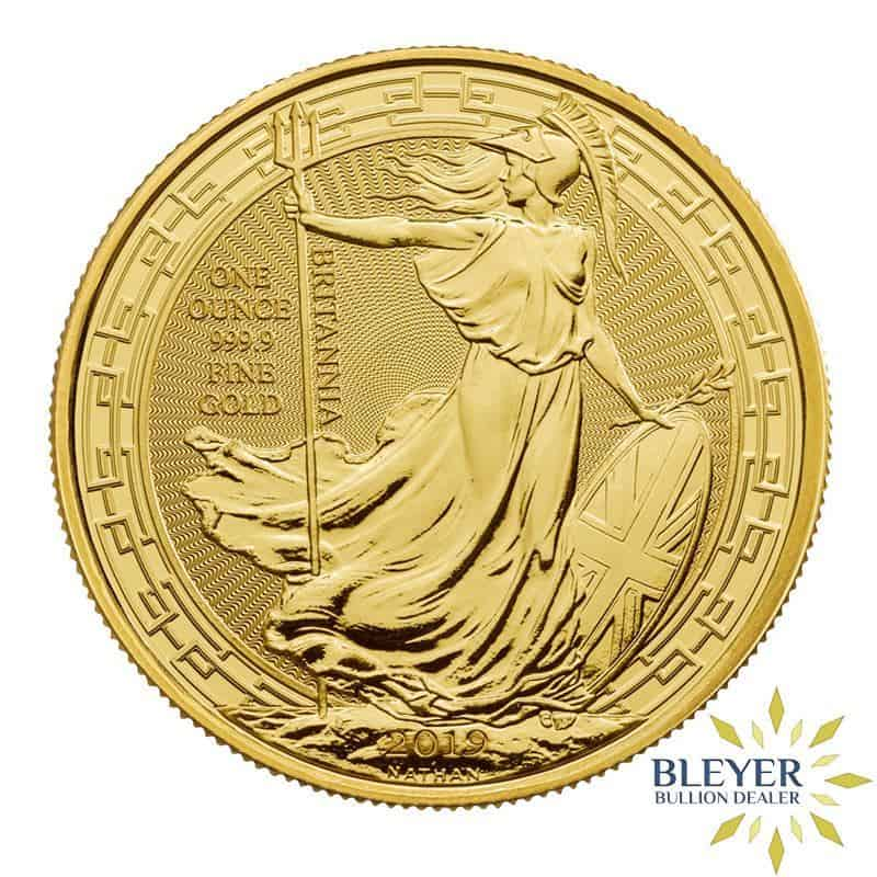 1oz Gold UK Oriental Border Britannia Coin, 2019