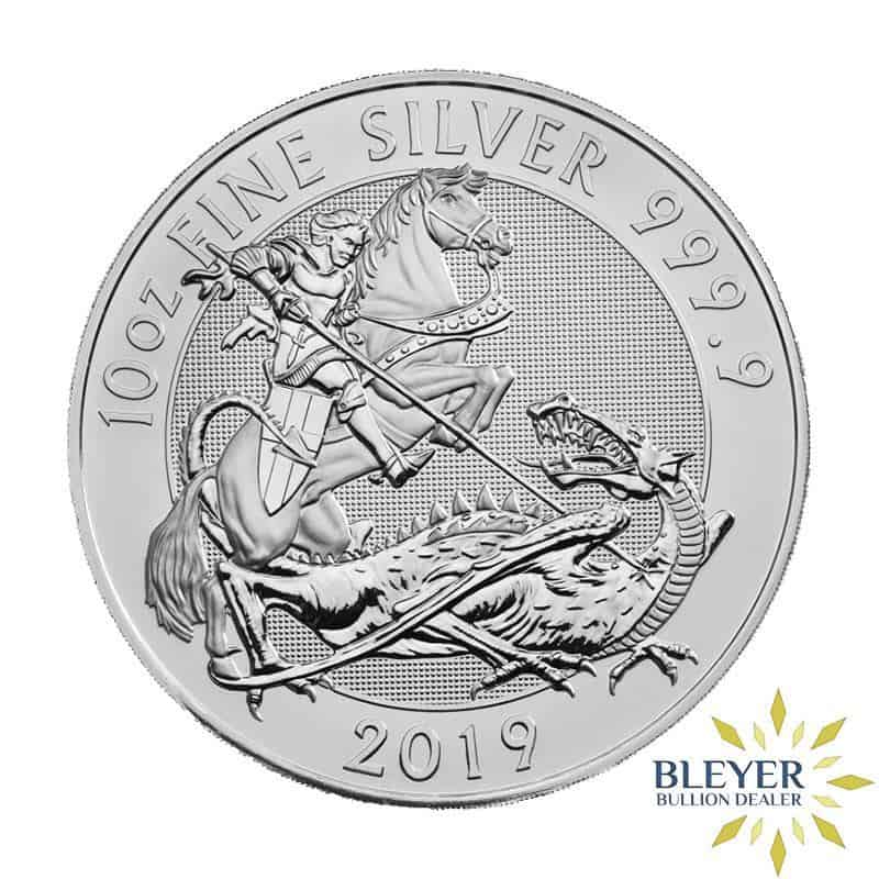 10oz Silver UK Valiant, 2019