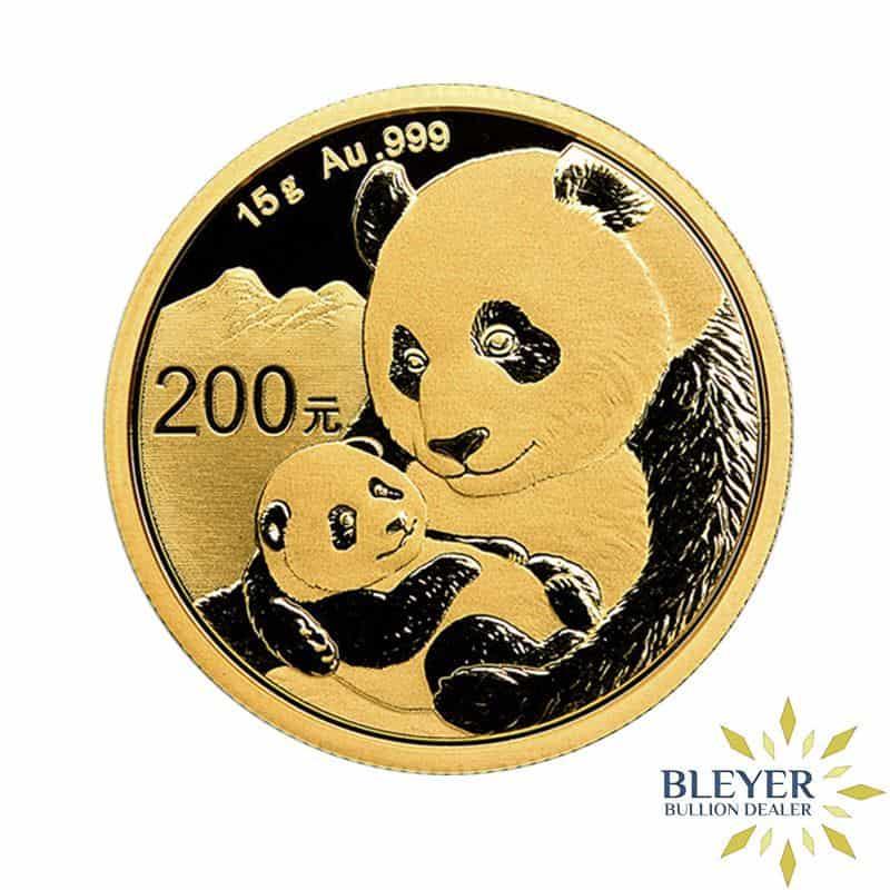 15g Gold Chinese Panda Coin