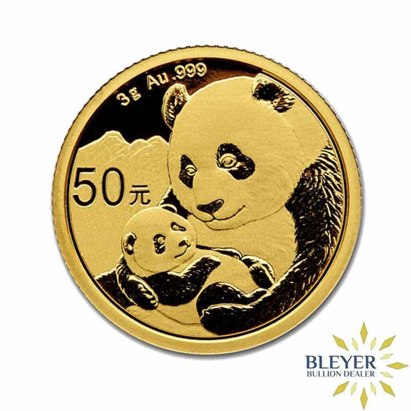 3g Gold Chinese Panda Coin