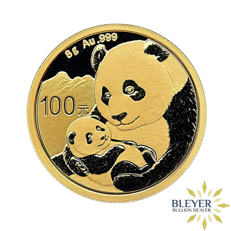 8g Gold Chinese Panda Coin