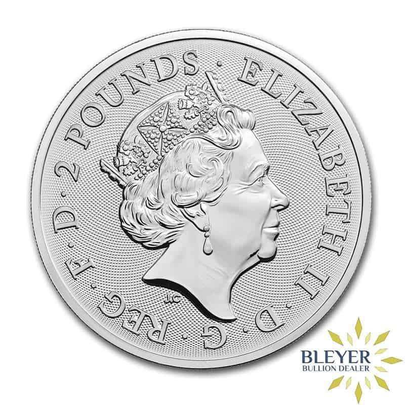 1oz Silver UK The Royal Arms Coin, 2019