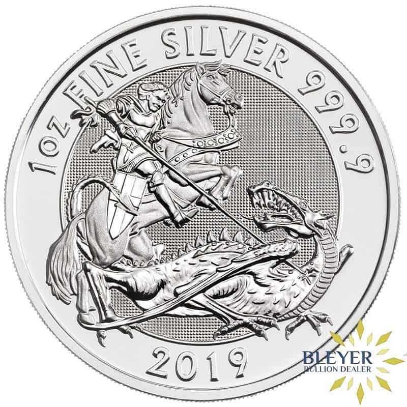 1oz Silver UK Valiant, 2019