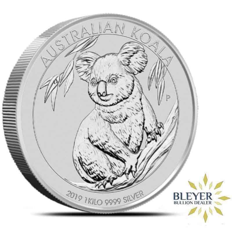 1kg Silver Australian Koala Coin, 2019