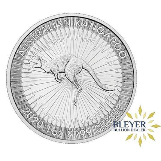 1oz Silver Australian Kangaroo, 2020