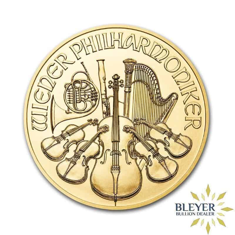1oz Gold Austrian Philharmoniker Coin, 2020