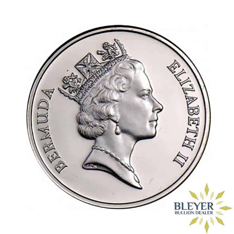 Best Value 1oz Singapore Mint Bermuda Sea Venture Palladium Coin 1987