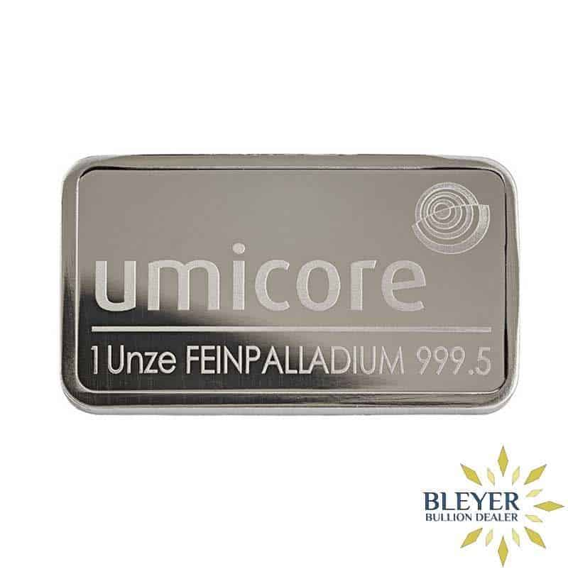 Best Value 1oz Minted Palladium Bar