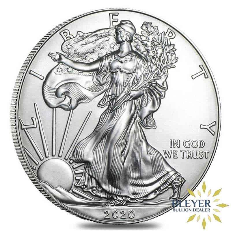 1oz Silver American Eagle, 2020