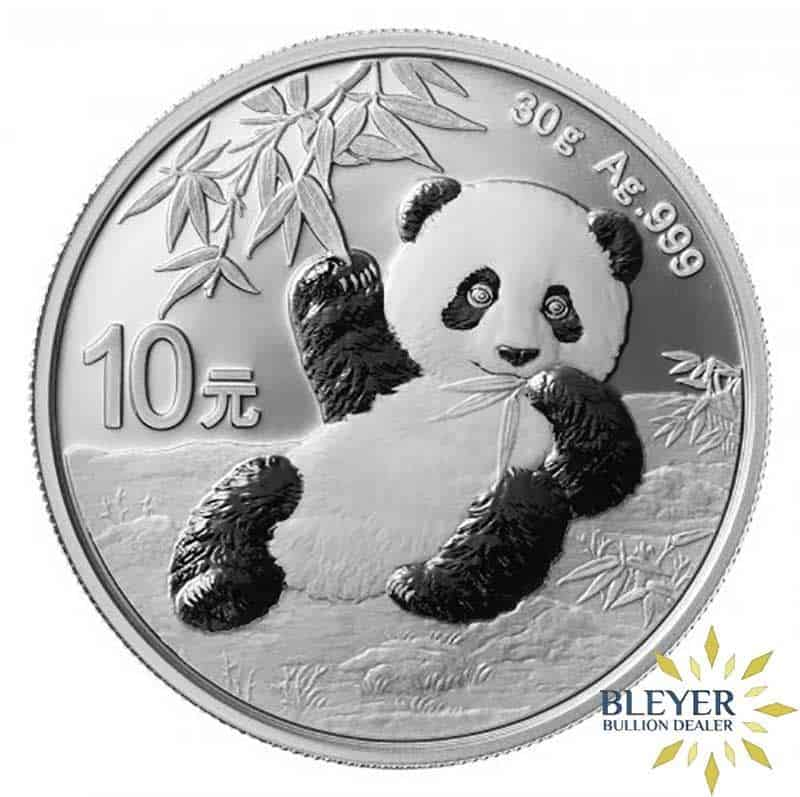 30g Silver Chinese Panda Coin, 2020