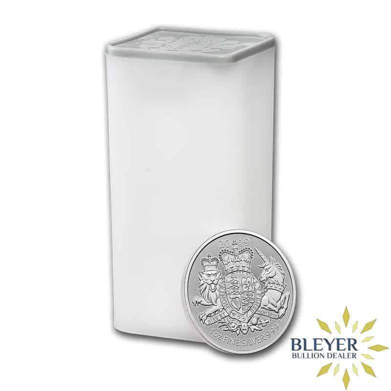 1oz Silver UK The Royal Arms Coin, 2020