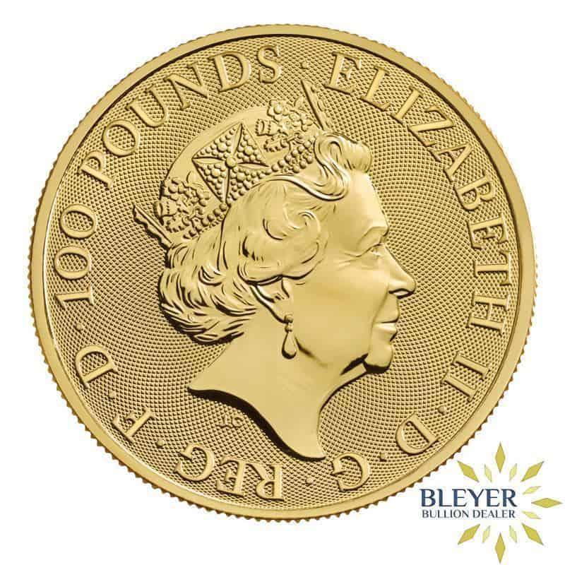 1oz Gold UK The Royal Arms Coin, 2020