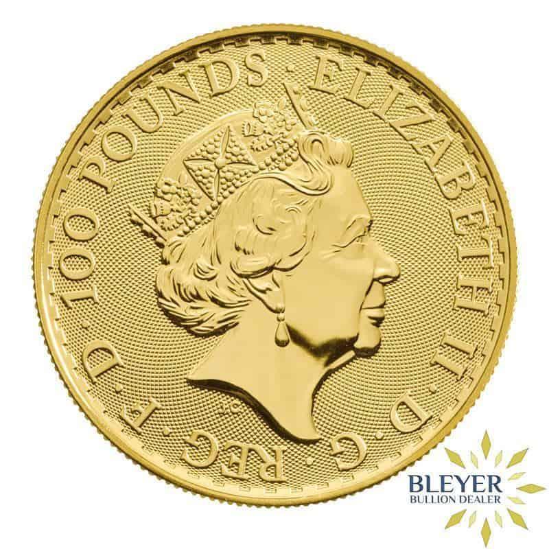 1oz Gold UK Oriental Border Britannia Coin, 2020