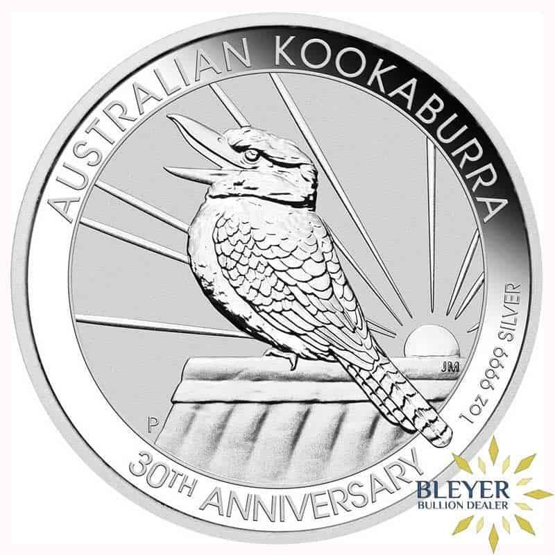 1oz Silver Australian Kookaburra Coin, 2020