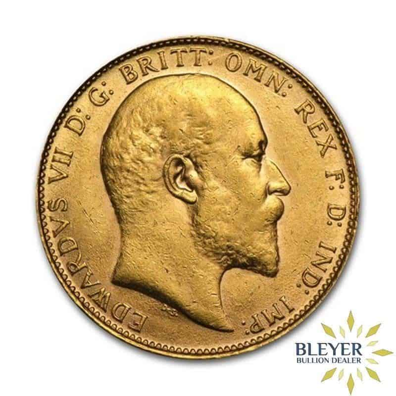 UK Gold Sovereign - Edward VII
