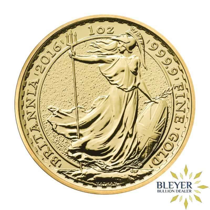 1oz Gold UK Britannia Coin (Mixed Years)