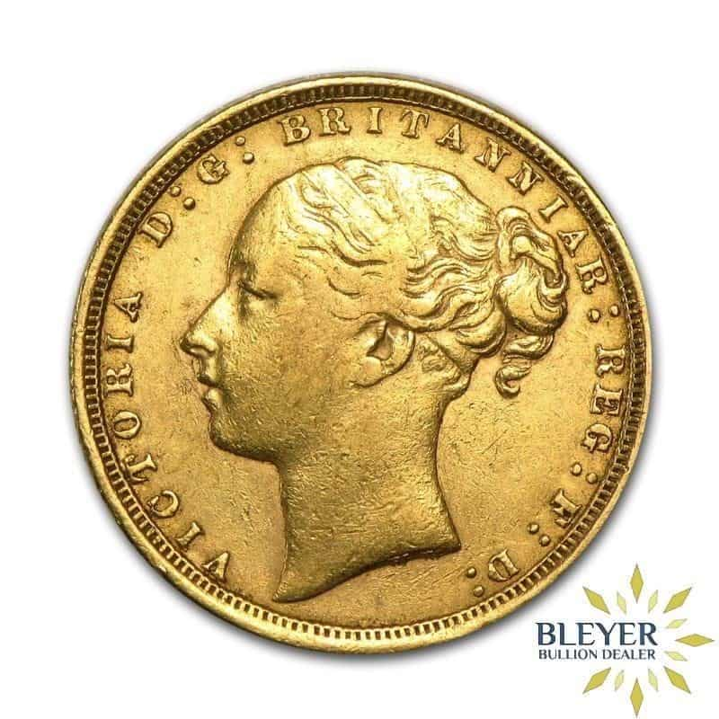 UK Gold Sovereign - Queen Victoria - Young Head