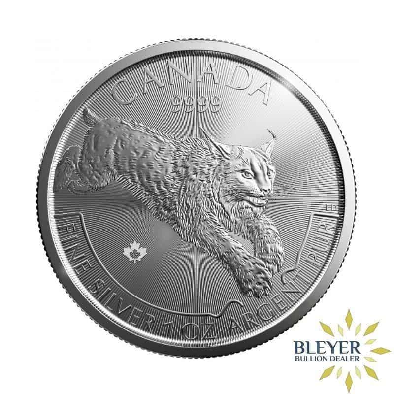 1oz Silver Canadian Lynx Coin, 2017