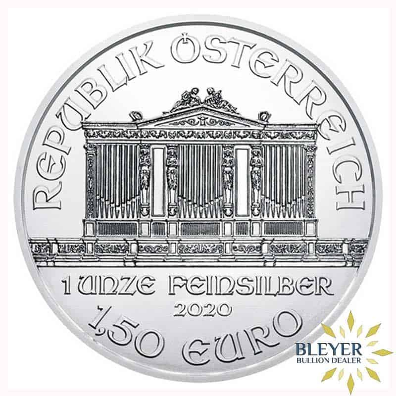 1oz Silver Austrian Philharmoniker, 2020