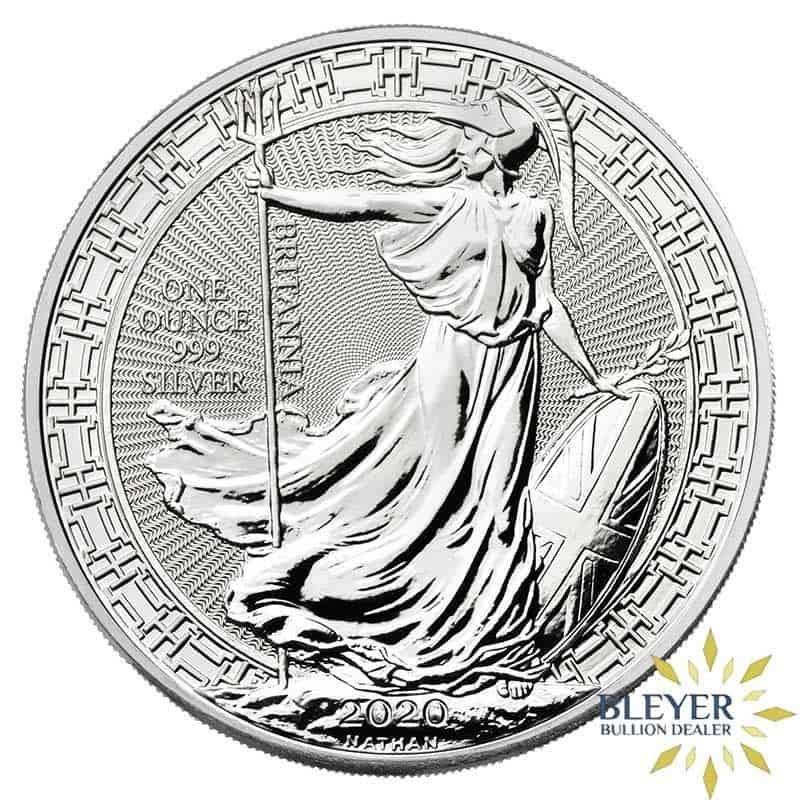 1oz Silver UK Oriental Border Britannia Coin, 2020