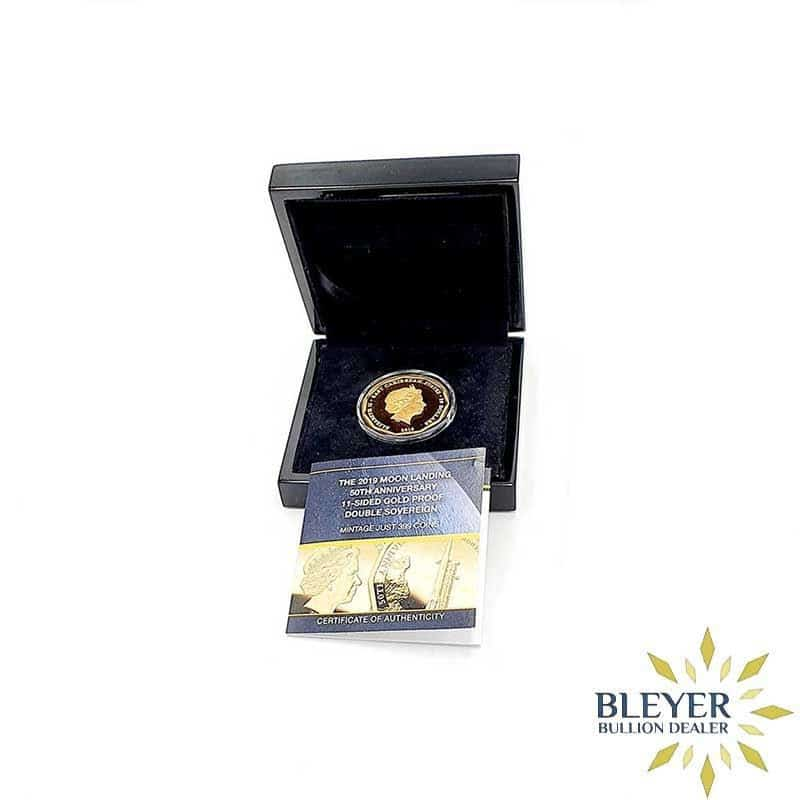 Best Value UK Gold The 2019 Moon Landing 50th Anniversary Double Proof Sovereign