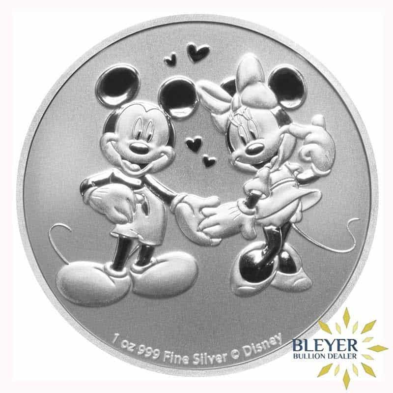 1oz Silver NIUE Disney Mickey & Minnie Mouse Mouse Coin, 2020