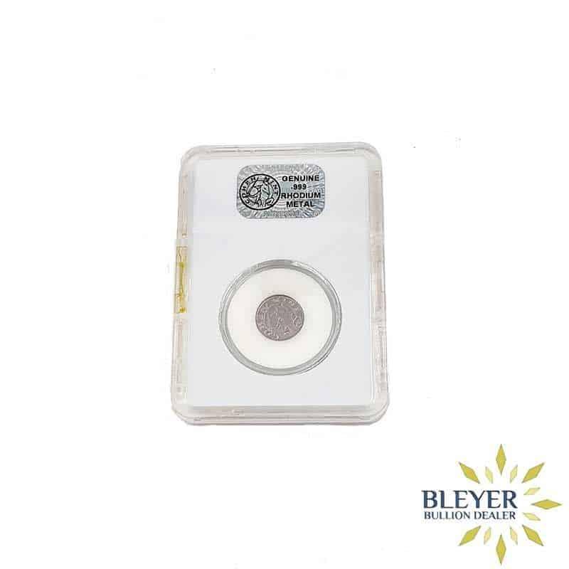 Best Value 1 gram Cohen Mint Rhodium Coin