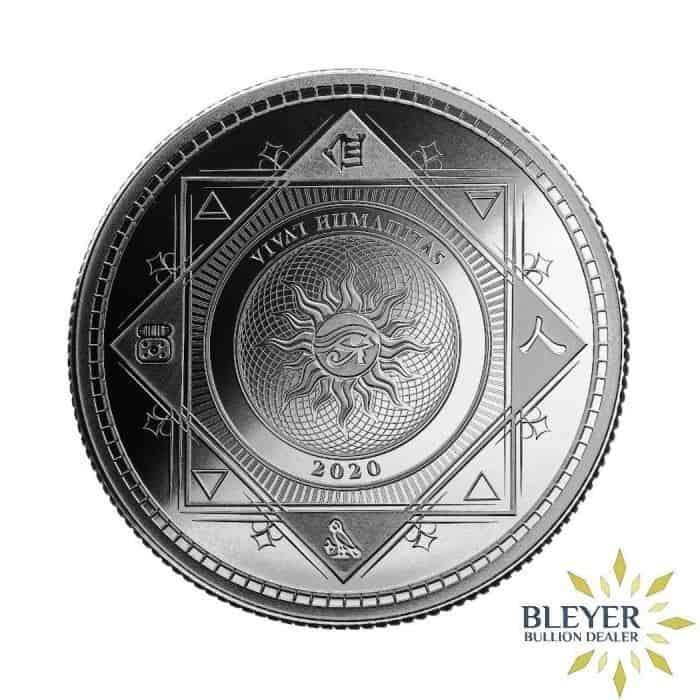 1oz Silver Tokelau Vivat Humanitas Coin, 2020