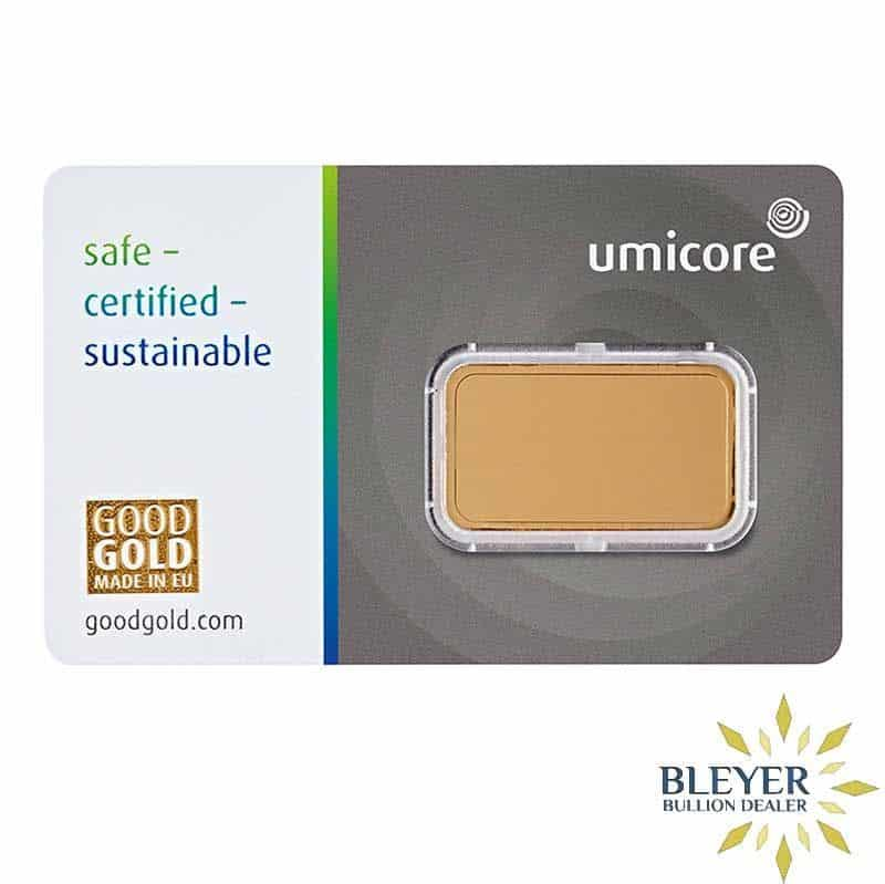 10g Umicore Minted Gold Bar