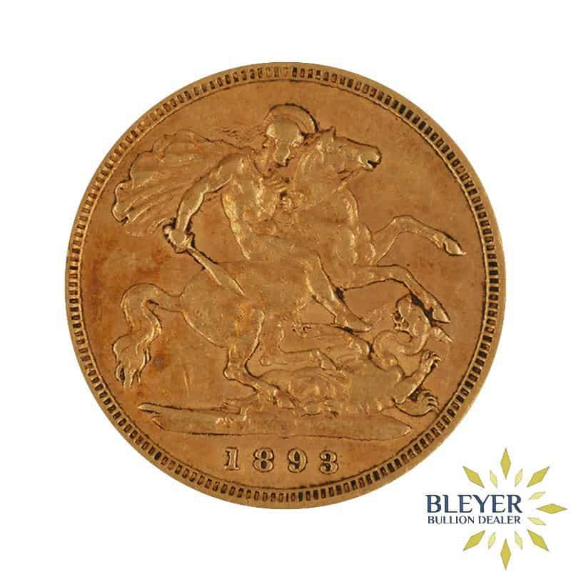 UK Gold Half Sovereign - Queen Victoria - Veiled Head