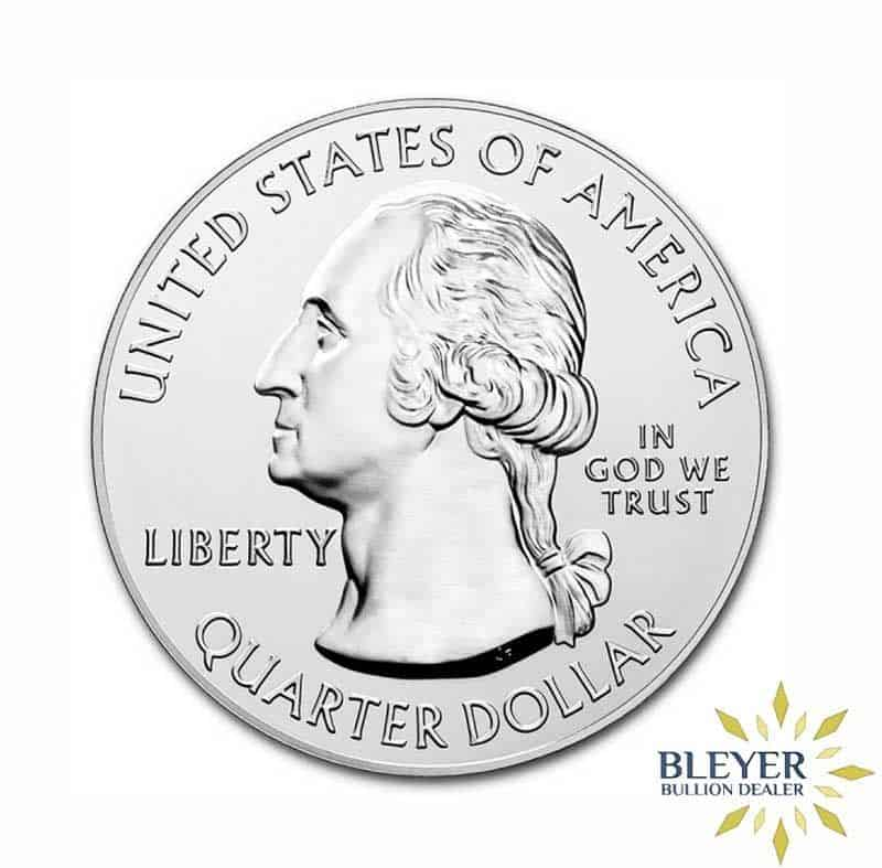 5oz National Park Of America Bombay Hook Silver Quarter 2015