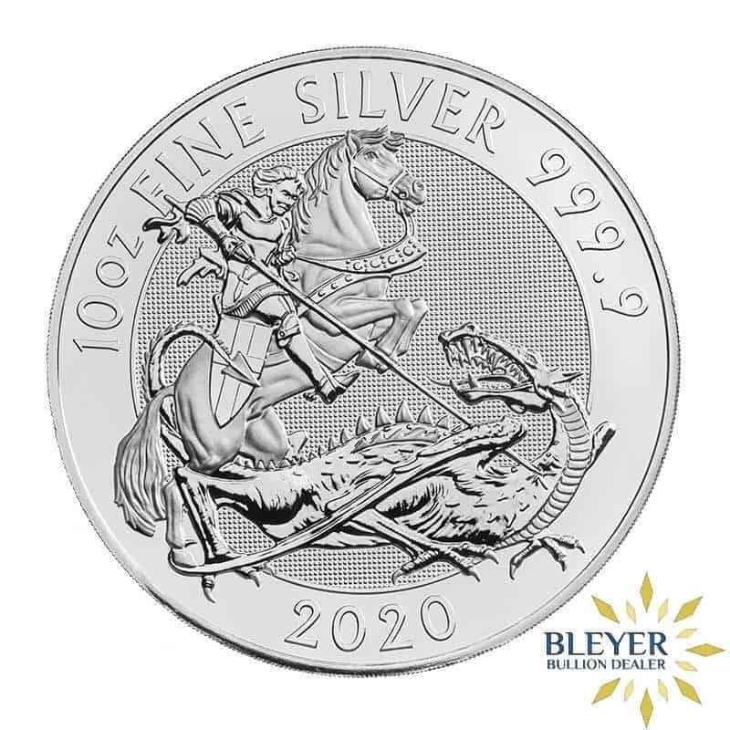 10oz Silver UK Valiant, 2020