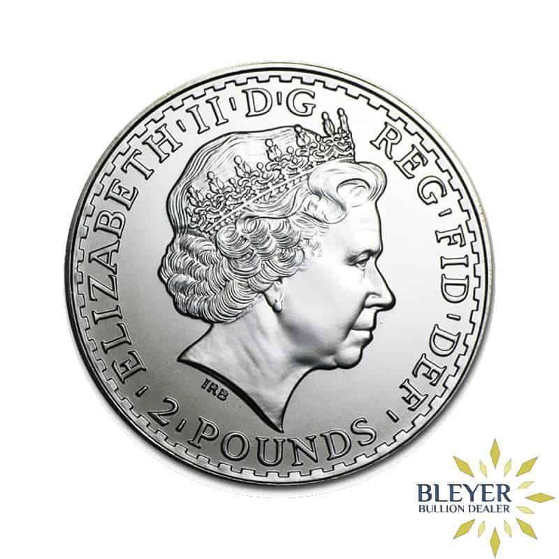1oz Silver UK Britannia Coin, 2010