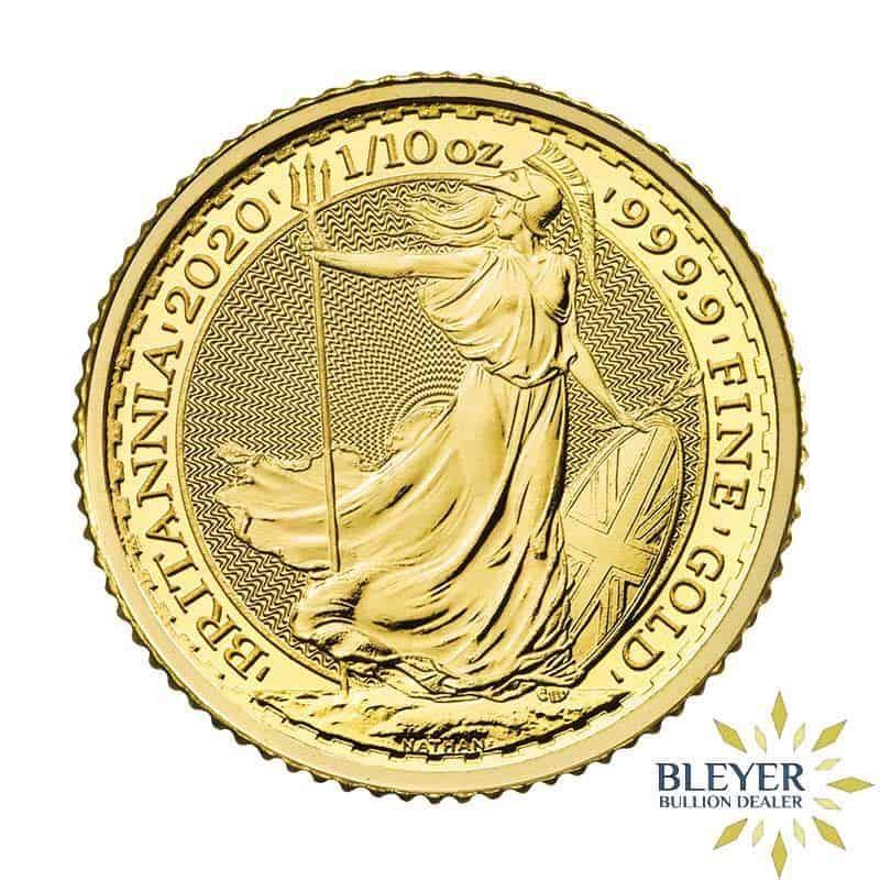 1/10oz Gold UK Britannia Coin (Mixed Years)