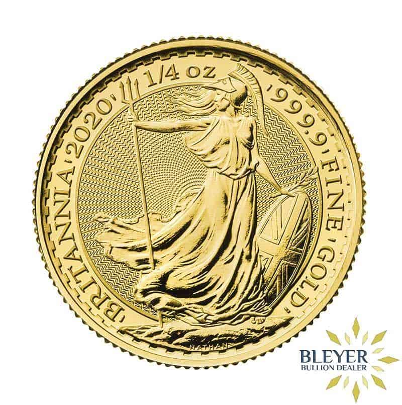 1/4oz Gold UK Britannia Coin, 2020