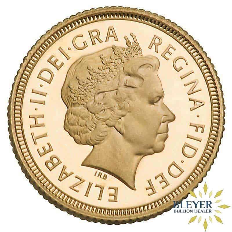 2002 UK Gold Half Sovereign - Queen Victoria - Shield Reverse
