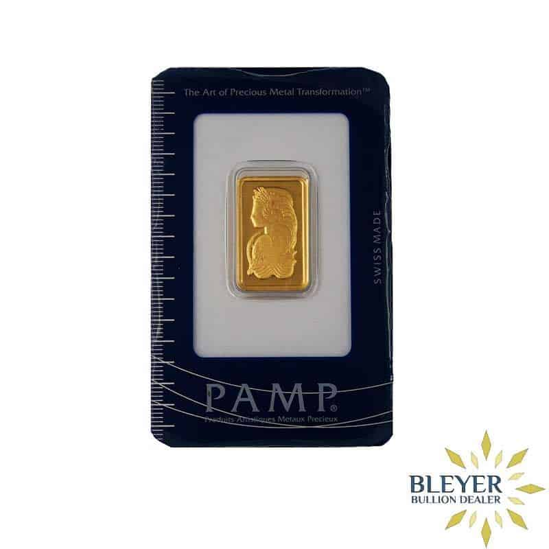 10g Pamp Minted Gold Bar