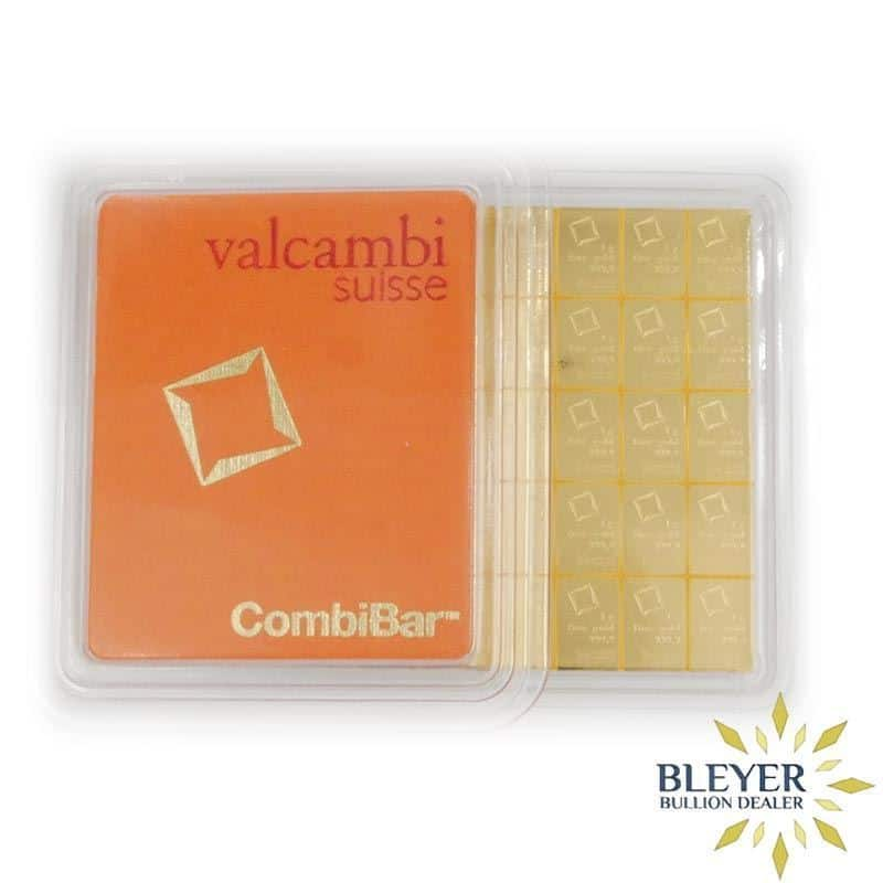 50g Gold Valcambi Minted CombiBar