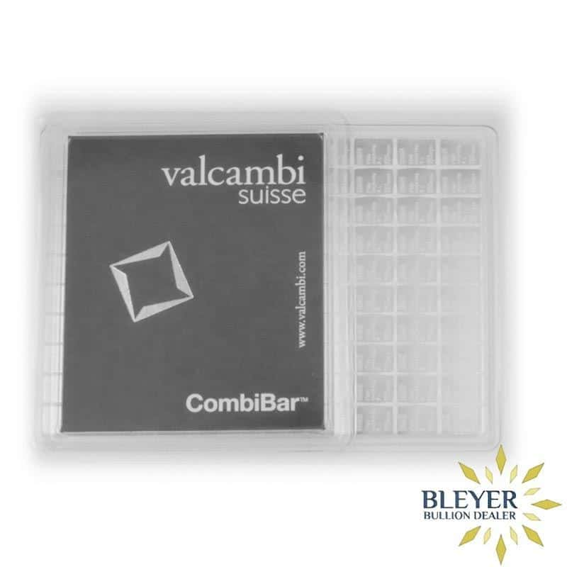 100g Silver Valcambi Minted CombiBar