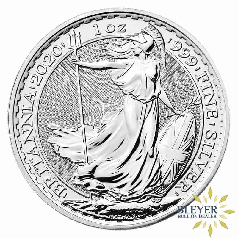 1oz Silver UK Britannia Coin, 2020