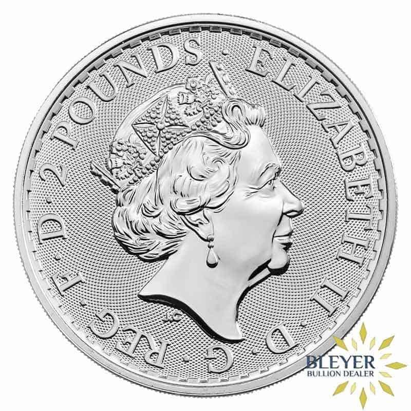 1oz Silver UK Britannia Coin, 2020